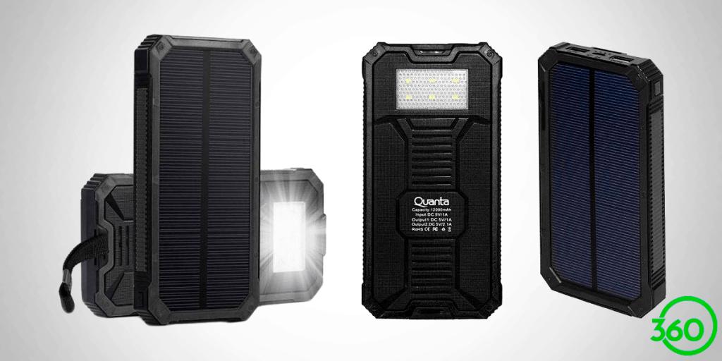 Carregador Solar Quarta