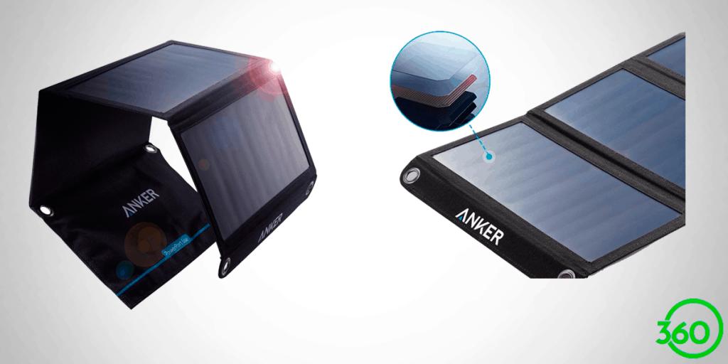 carregador solar anker 21w