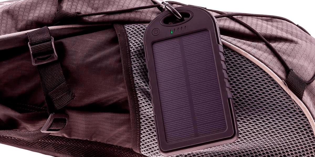 Melhor carregador solar portátil