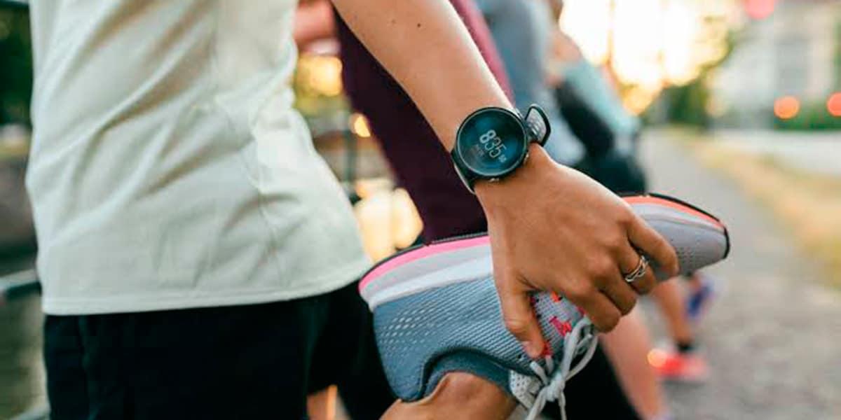 Relógio para corrida
