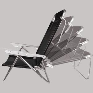 Melhor Cadeira de Praia Reclinável