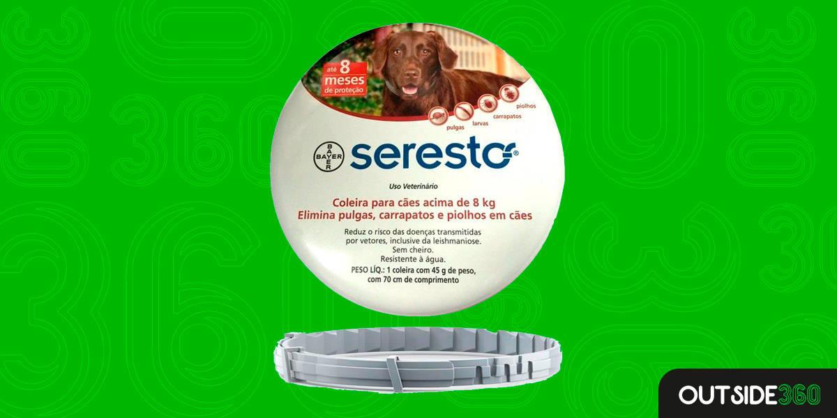 Melhor Coleira Antipulgas para Cães Grandes