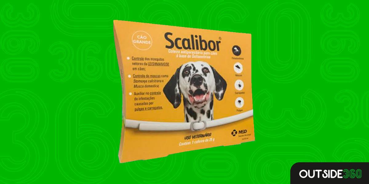 Coleira Antipulgas para Cães Grandes Boa e Barata