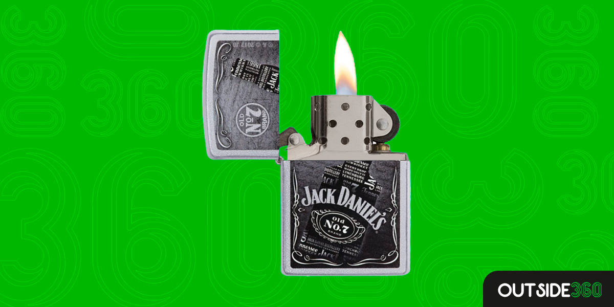 Isqueiro Jack Daniel's Bottle