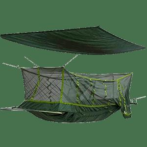 Rede de Selva com Mosquiteiro e Cobertura