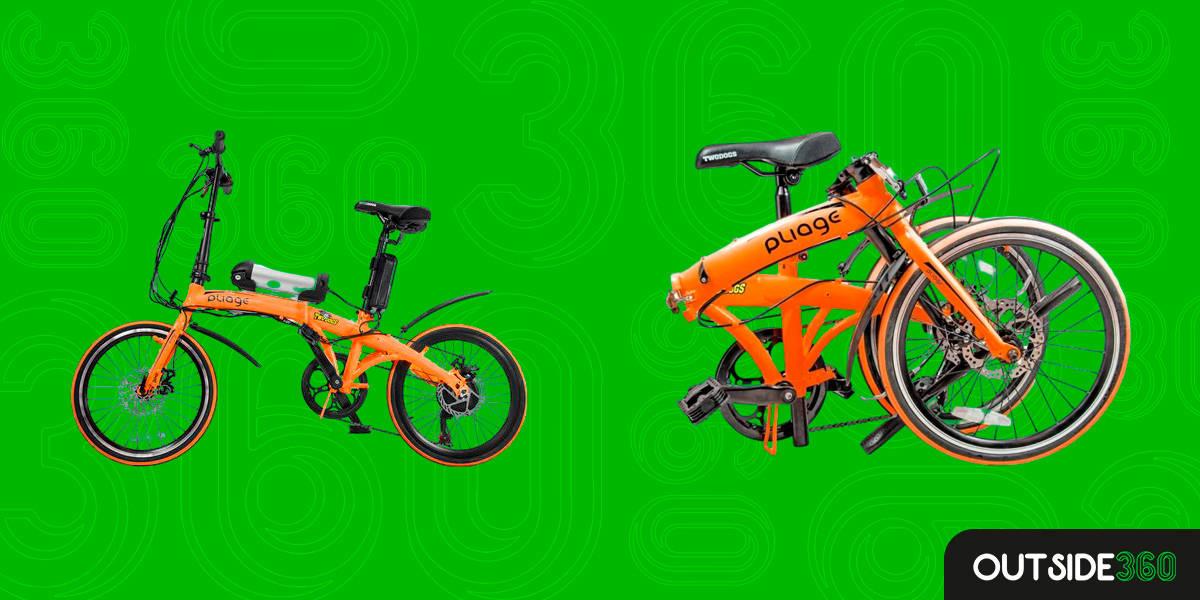 Bike Dobrável Pliage Laranja Two Dogs