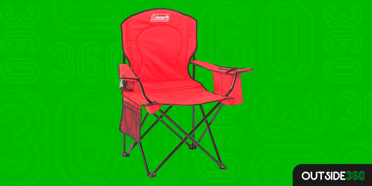 Cadeira Dobrável Coleman com Bolsa Térmica