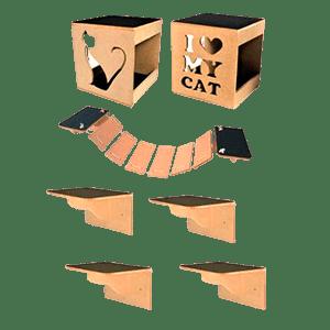 Conjunto NekoCat para Gatos
