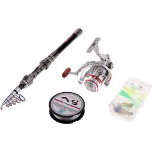 Kit de pesca Flameer