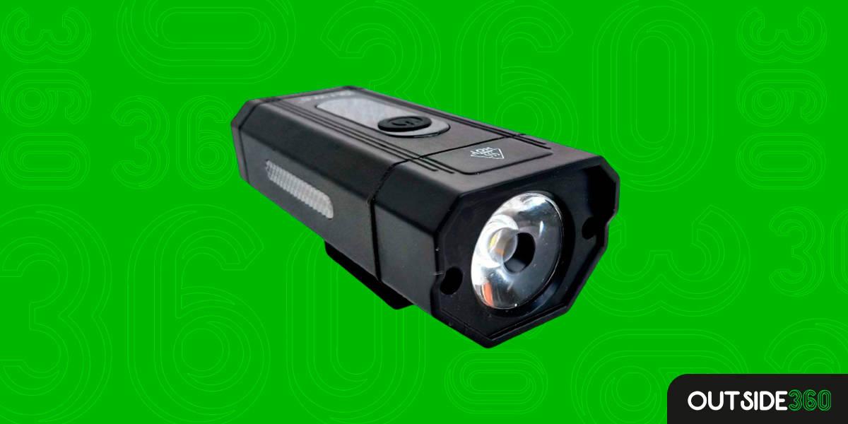 Farol Lanterna Bike Recarregável LED Ws-8201