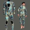 Roupa de Mergulho Wetsuits de Neoprene Camuflado de 3 mm