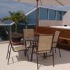 Mesa para Piscina, Varanda e Jardim Trama Móveis