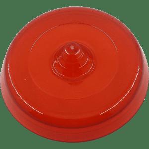 Mini Frisbee Flexível - Vermelho