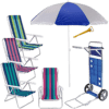 Kit Praia com Cadeiras Mor