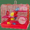 Gaiola para Hamster Prime com Andar de Acrílico