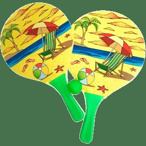 Kit Frescobol Hai Brasil