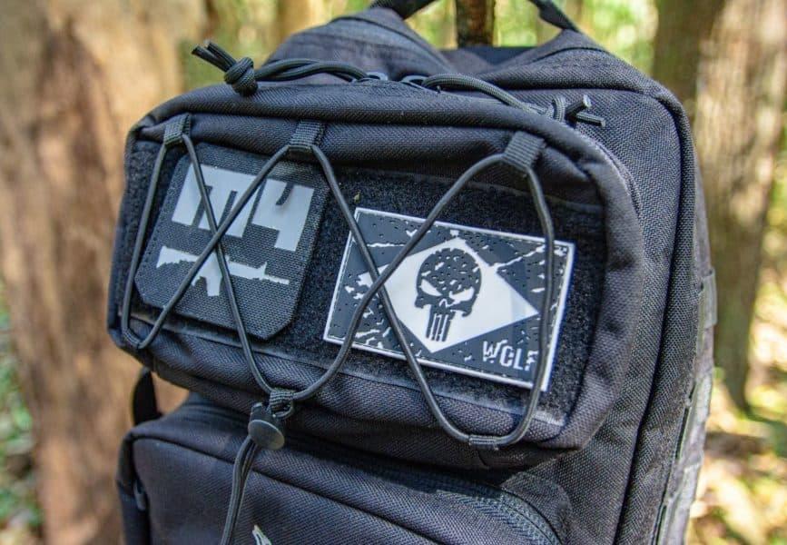 Patches da mochila Wolf M4
