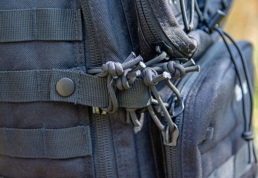 Sistema antifurto da mochila Wolf attack